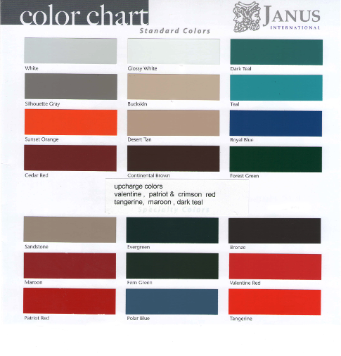 Janus Color Chart
